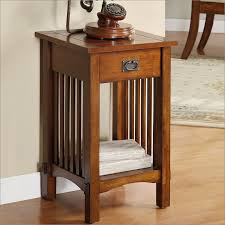 round oak end table adding fancy oak end tables touch into your living room wigandia