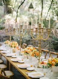 rustic wedding reception table ideas ce Wed