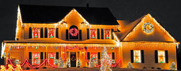 Beautifully Decorated Homes For Christmas Beautiful Christmas Lights On Houses Lights Christmas Lights