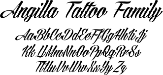 photo collection tattoo fonts best font