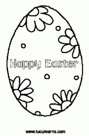 easter egg colour ineaster egg drawing template easter egg craft