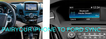 how to set up bluetooth on ford focus got an iphone 6 learn more about how to sync it with ford sync