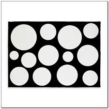 Black Polka Dot Rug Stupendous Black And White Polka Dot Rug 36 Black And White Polka
