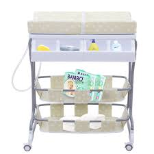 Bath Changing Table Costway Rakuten Costway Infant Baby Bath Changing Table