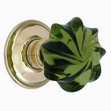 Green Glass Cabinet Knobs Glass Door U0026 Cabinet Knobs From Merlin Glass
