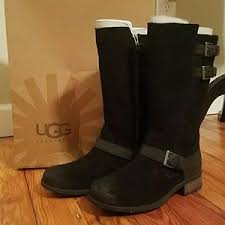 womens ugg everglayde boots s black ugg mid calf boots on poshmark