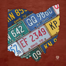License Plate Usa Map by Design Turnpike Artwork For Sale Dearborn Mi United States