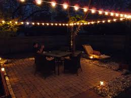 Hanging Patio String Lights Outdoor Patio String Lighting Ideas Outdoor Lighting