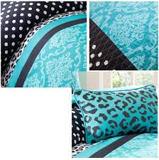 cheetah bedding for girls teal blue black cheetah animal print teen bedding twin xl