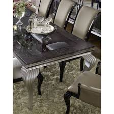aico michael amini hollywood swank starry night 4 leg dining table