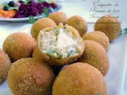 recette de cuisine pomme de terre croquettes de pommes de terre farcies au fromage amour de cuisine