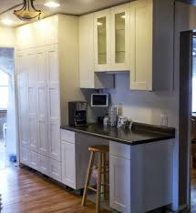 how tall are kitchen cabinets kitchen oak wood tall kitchen cabinet including stainless modern