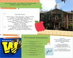 washington elementary pta newsletters