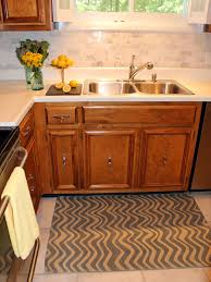 images of backsplash for kitchens how to install a marble tile backsplash hgtv