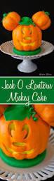 Halloween Recipes Cakes Jack O Lantern Mickey Mouse Cake Mickey Halloween Disney Mickey