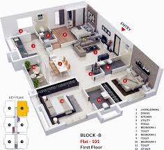 1369 sq ft 2 bhk 2t apartment for sale in midwest builders elita