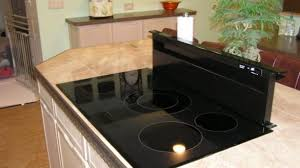 Design Ideas For Gas Cooktop With Downdraft Downdraft Induction Cooktop Home Design Ideas Brilliant With