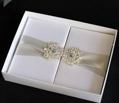 wedding invitations in a box silk foliogate wedding invitations box