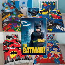 Lego Bedding Set Reversible Dc Comic Lego Batman Duvet Cover Bedding Set