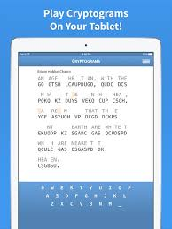 cryptogram cryptoquote on the app store