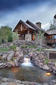 mine style rustic mountain lodge rustic landscape denver