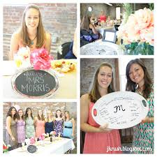 bridal shower plate to sign bridal shower brunch the idea of everyone signing a serving
