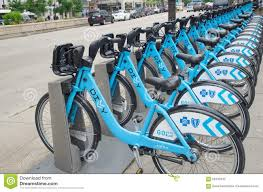 Divvy Map Chicago Chicago Il June 11 2015 Divvy Bikes In Chicago Editorial Image