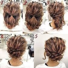 side buns for shoulder length fine hair updo for shoulder length hair pinteres
