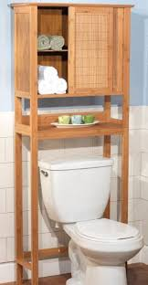 Bathroom Space Saver Shelves Bathroom Space Saver The Toilet Bath Bamboo Storage Cabinet
