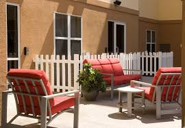 outdoor seating area residence inn orlando airport