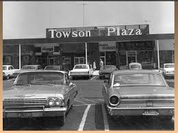 1960 s baltimore county this view of towson plaza on dulaney
