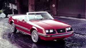 1982 mustang glx ford mustang glx convertible 1982 83