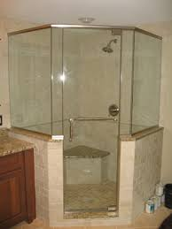 Angled Shower Doors Bathroom Design Possibilities With Neo Angle Custom Shower Doors
