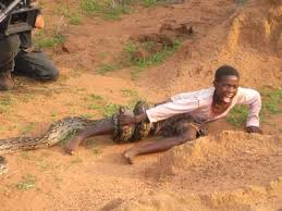 Skeptical African Kid Meme - television was national geographic just filming a snake attack a