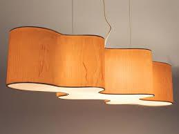 Wood Veneer Pendant Light Veneer Pendant L Cloud Mesa By La