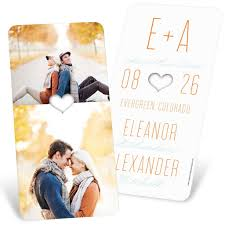 halloween save the date magnets save the date ideas for your fall wedding pear tree blog
