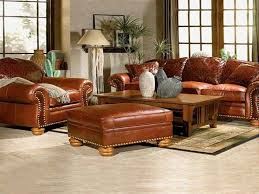 Living Rooms With Leather Furniture Decorating Ideas With - Family room leather furniture