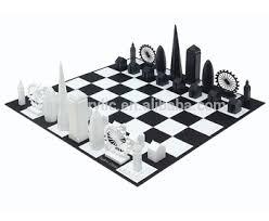 Buy Chess Set 2017 Factory Wholesale Custom Acrylic Chess Set Colored Glass