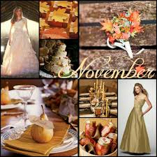 november wedding ideas wedding color ideas by month
