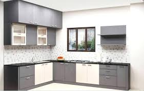 l shaped kitchen cabinets cost l shaped kitchen cabinets cost modular kitchen of the picture