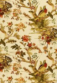 173082 le faisan chinoiserie spice by fschumacher fabric