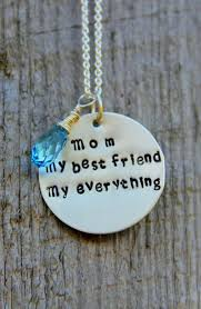 Presents For Mom Ready To Ship Mom Necklace Daughter Gift I Love Mom No 1