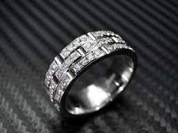 men diamond wedding bands men diamond wedding rings crafted 14k white gold mens diamond