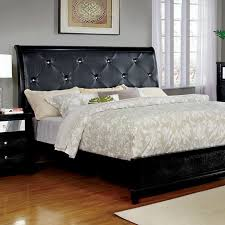 furniture reclaimed wood platform with headboard using white