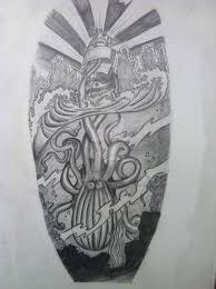 the kraken sketch by tstat0822 on deviantart