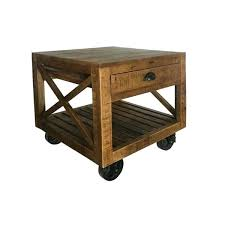 industrial tables for sale industrial end table barn door industrial end table brown used