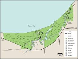 Wisconsin State Park Map by Port Crescent State Parkmaps U0026 Area Guide Shoreline Visitors Guide