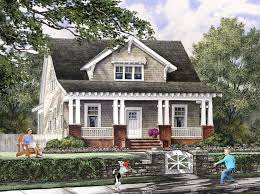 Small Home Plans With Porches Nonsensical 7 Bungalow House Plans With Porches Craftsman Style