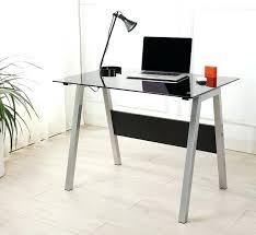 Black Glass Computer Desks For Home Modern Glass Computer Desk Medium Size Of Desk Workstation Glass