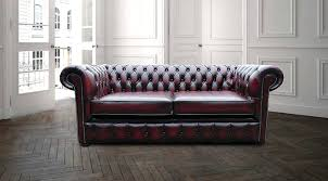 Chesterfield Sofa Antique Leather Sofa Vintage Oxblood Chesterfield Sofa Oxblood Leather